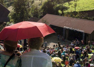 Rock auf`m Hof.- Das Event auf dem Oberern Schwärzenbachhof Gegengenbach
